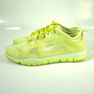Nike Free TR Fit 4 Lime Green Running Shoes